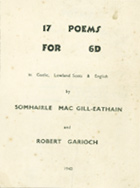 17 poems for 6d (1940) – Front Cover